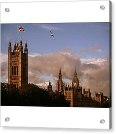 #london #parliamenthouse #westminster Acrylic Print by Ozan Goren