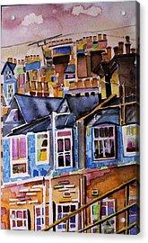 London Rooftops Acrylic Print