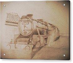 London Steam Locomotive  Acrylic Print