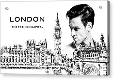 London The Fashion Capital Acrylic Print