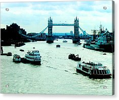 Acrylic Print featuring the photograph London Uk by Michelle Dallocchio