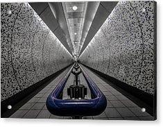 London Underground Acrylic Print