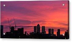 London Wakes 1 Acrylic Print