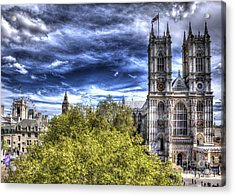 London Westminster Abbey Surreal Acrylic Print