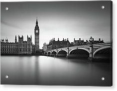 London, Westminster Bridge Acrylic Print by Ivo Kerssemakers