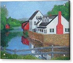 Londonderry Vermont Acrylic Print