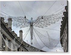 London's Angel Acrylic Print