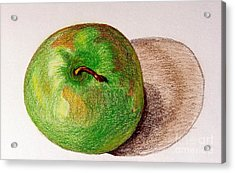Lone Apple Acrylic Print