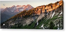 Lone Peak Wilderness Panorama Acrylic Print