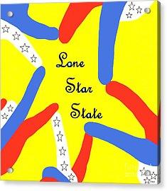 Lone Star State Acrylic Print by Eloise Schneider