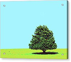 Lone Tree Acrylic Print by Dominic Piperata