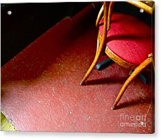 Lonely Chair Acrylic Print by Chuck Taylor