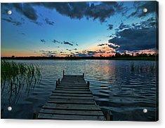 Lonely Dock Acrylic Print