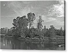 lonely Island Acrylic Print by M Ryan