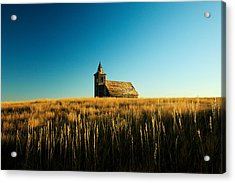 Lonely Old Church Acrylic Print by Todd Klassy