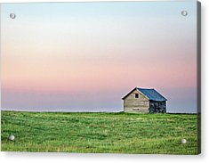 Lonely Old Shed Acrylic Print by Todd Klassy