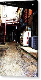 Acrylic Print featuring the photograph Lonely Passage by Cyryn Fyrcyd