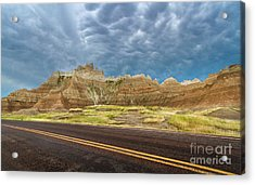 Lonesome Highway Acrylic Print