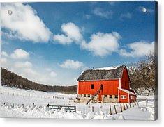 Lonesome Valley Acrylic Print by Todd Klassy