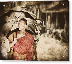 Long Ago In Luang Prabang Acrylic Print