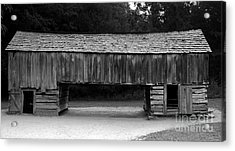 Long Barn Acrylic Print by David Lee Thompson