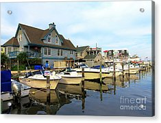 Long Beach Island Living Acrylic Print by John Rizzuto