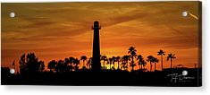 Long Beach Lighthouse Acrylic Print