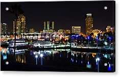 Long Beach Lights Acrylic Print