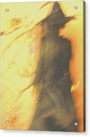 Long Cool Woman In A Black Dress Acrylic Print by Susie DeZarn