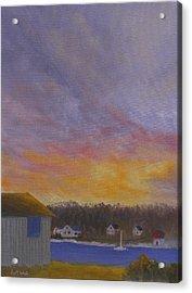Long Cove Sunrise Acrylic Print