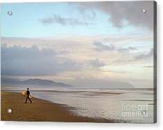 Long Day Surfing Acrylic Print