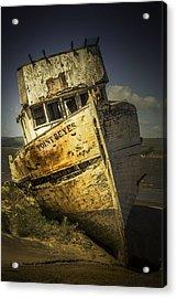 Long Forgotten Boat Acrylic Print