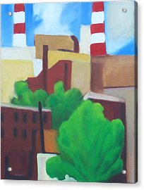 Long Island City View Acrylic Print