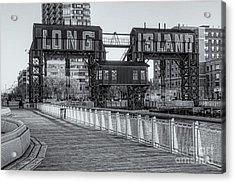 Long Island Railroad Gantry Cranes Iv Acrylic Print