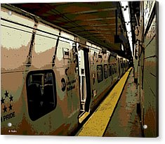 Long Island Railroad Acrylic Print