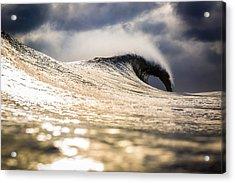 Long Island Wild Weather Wave Acrylic Print