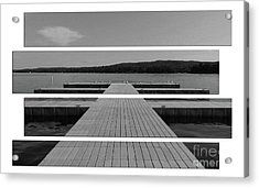 Long Lake Dock Acrylic Print