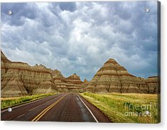 Long Lonesome Highway Acrylic Print