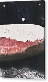 Long Night Slow Moon Acrylic Print by Ryan Kelly