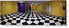 Acrylic Print featuring the digital art Long Perspective by Digital Art Cafe