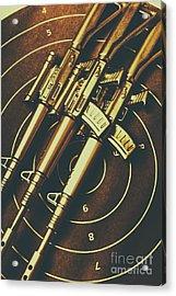 Long Range Tactical Rifles Acrylic Print