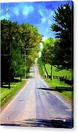 Long Road Ahead Acrylic Print