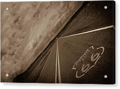 Long Road Too Acrylic Print by Brendan Quinn