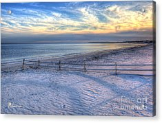 Acrylic Print featuring the photograph Long Shadows by Michelle Wiarda