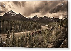 Acrylic Print featuring the photograph Long Train Running by John Poon