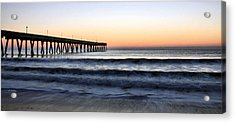 Long View Acrylic Print by JC Findley