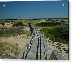 Long Walk Acrylic Print by Eric Workman