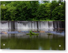 Long Waterfall Acrylic Print