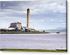 Acrylic Print featuring the photograph Longannet Power Station by Jeremy Lavender Photography