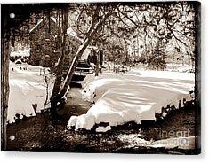 Longfellow's Mill Acrylic Print by Frank Garciarubio